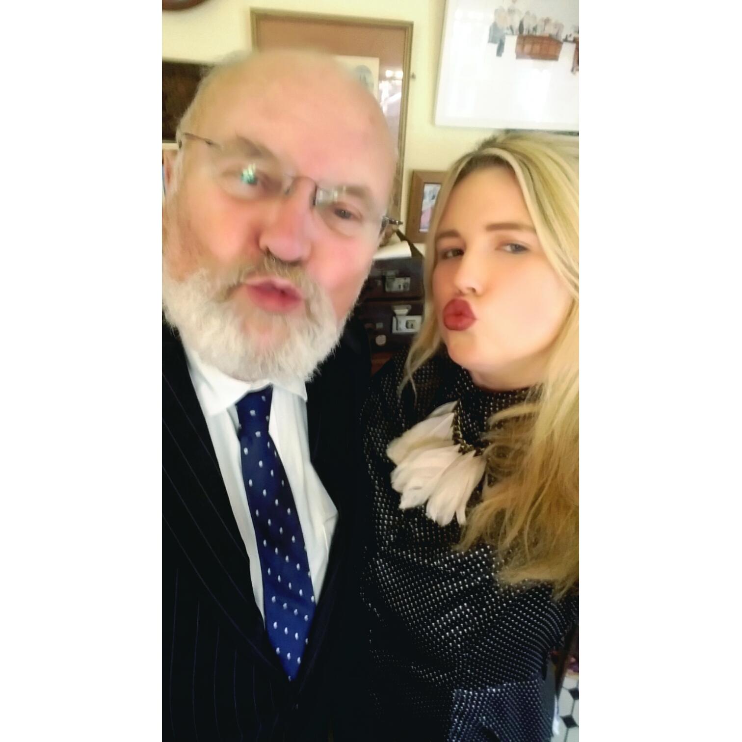 Afternoon Tea with Senator David Norris